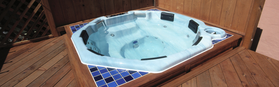 Small hot tub
