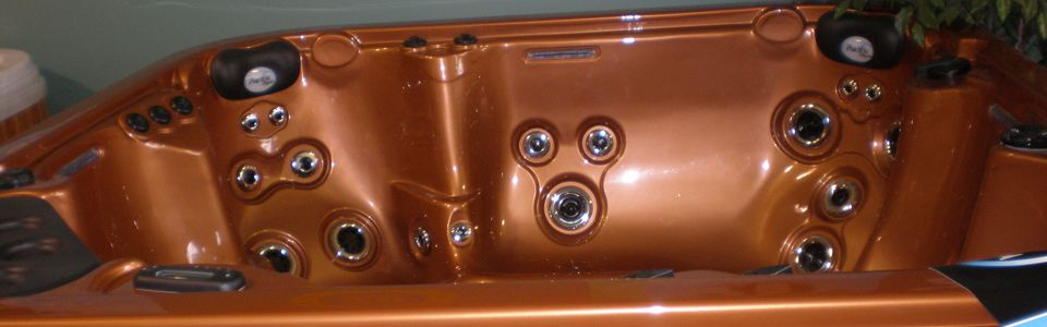 Copper hottub